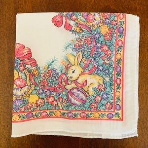 Other - Spring Flower Easter Bunny Rabbit Chick 8 Napkins